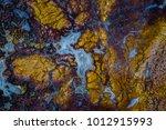 mineral design  macro closeup... | Shutterstock . vector #1012915993