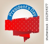 colorful vector president's day ...   Shutterstock .eps vector #1012919377