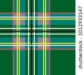 scottish cage  green celtic.... | Shutterstock .eps vector #1012933147