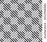 vector seamless pattern. modern ... | Shutterstock .eps vector #1012968583