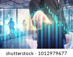 investment and trade concept.... | Shutterstock . vector #1012979677