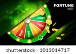 wheel of fortune gambling... | Shutterstock .eps vector #1013014717