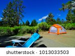 campground big bear lake... | Shutterstock . vector #1013033503