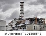 chernobyl nuclear power plant... | Shutterstock . vector #101305543
