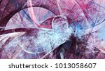 artistic color motion... | Shutterstock . vector #1013058607
