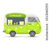 fresh cold lemonade street food ... | Shutterstock . vector #1013060293