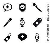 Swiss Icons. Set Of 9 Editable...