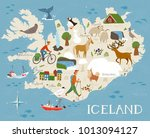 high detailed vector map of...   Shutterstock .eps vector #1013094127