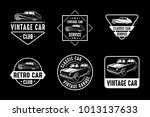 classic car vintage badge  ...   Shutterstock .eps vector #1013137633