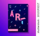 creative typography design... | Shutterstock . vector #1013193217