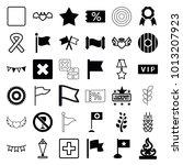 banner icons. set of 36...   Shutterstock .eps vector #1013207923