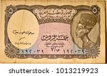 close up of five egyptian... | Shutterstock . vector #1013219923