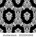 seamless black background with... | Shutterstock .eps vector #1013241043