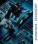 cockpit instrument panel  | Shutterstock . vector #1013242207