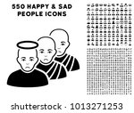pitiful holy men pictograph... | Shutterstock .eps vector #1013271253