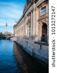 Small photo of Berlin, Germany (May 2014). The left side of Bode Museum near the Spree river.