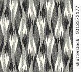 abstract monochrome broken... | Shutterstock .eps vector #1013272177