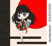 cute vector illustration....   Shutterstock .eps vector #1013311033