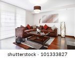 interior design series  living... | Shutterstock . vector #101333827
