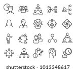 simple collection of... | Shutterstock .eps vector #1013348617