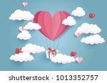 vector design of love ... | Shutterstock .eps vector #1013352757