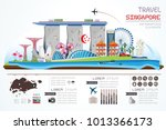 info graphics travel and... | Shutterstock .eps vector #1013366173