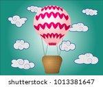 bright  cartoon  high volume... | Shutterstock .eps vector #1013381647