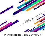 multicolored straight lines ... | Shutterstock .eps vector #1013394037