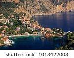 "assos  or ""asos""  village  one ... | Shutterstock . vector #1013422003"