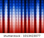 abstract image of the american... | Shutterstock .eps vector #1013423077