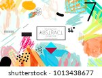 abstract universal art web... | Shutterstock .eps vector #1013438677