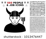 warrior pictograph with 550... | Shutterstock .eps vector #1013476447