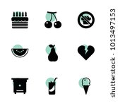 sweet icons. vector collection...