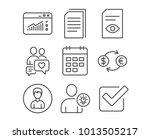set of currency exchange  user... | Shutterstock .eps vector #1013505217
