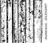 grunge wood overlay texture.... | Shutterstock .eps vector #1013510497