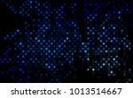 dark blue vector  pattern with... | Shutterstock .eps vector #1013514667