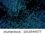 dark blue vector abstract... | Shutterstock .eps vector #1013544577