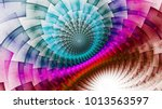 rainbow protective magnetic... | Shutterstock . vector #1013563597