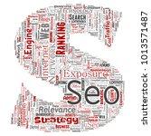 vector conceptual search... | Shutterstock .eps vector #1013571487