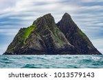 skellig michael  island nearby...   Shutterstock . vector #1013579143