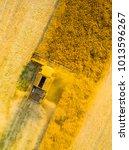 aerial view of combine... | Shutterstock . vector #1013596267