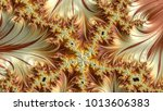 abstract computer generated... | Shutterstock . vector #1013606383