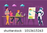 business characters in... | Shutterstock .eps vector #1013615263