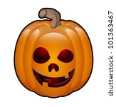 art of halloween jack o lantern | Shutterstock .eps vector #101363467
