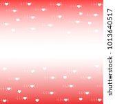 valentines day celebration... | Shutterstock .eps vector #1013640517