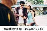 couple asian travelers are...   Shutterstock . vector #1013643853