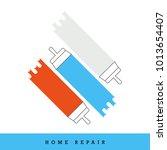 home repair vector icon set....