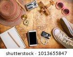 travel plan  trip vacation ...   Shutterstock . vector #1013655847