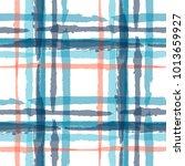 tartan. seamless grunge... | Shutterstock .eps vector #1013659927