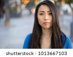 young asian woman  | Shutterstock . vector #1013667103